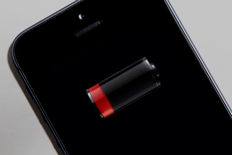 شارژ باتری موبایل